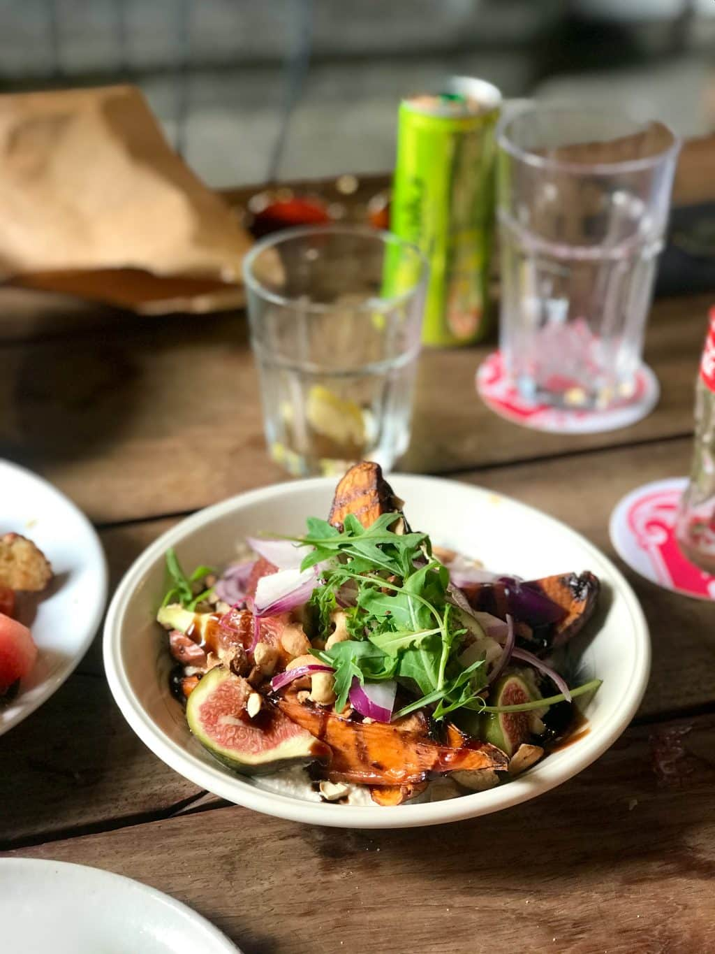 Fresh and seasonal creative sharing plates, what a great family dinner! Optimist is one of our favorite restaurants in Leuven, Belgium.