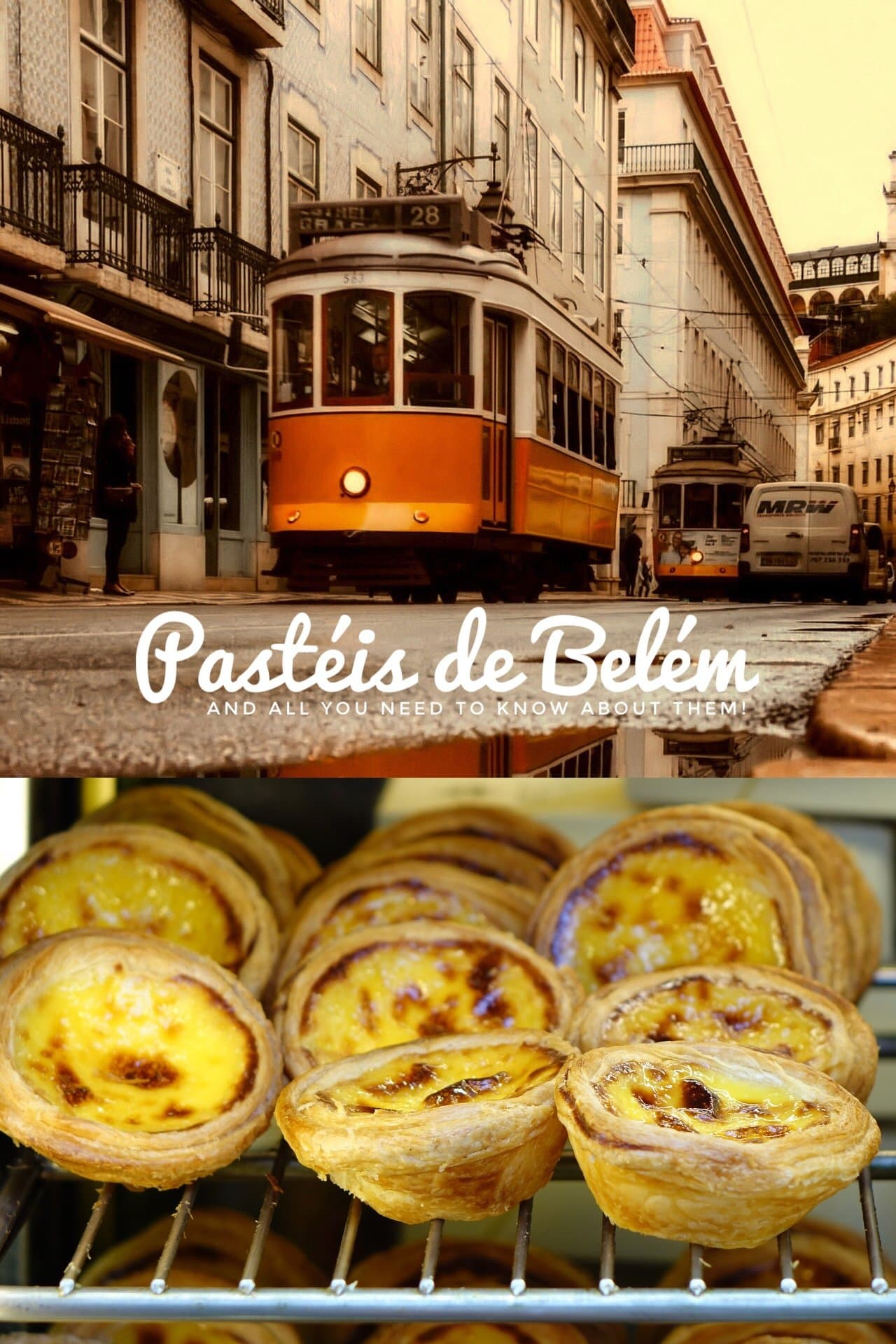 You can't possibly think of 'Lisbon' without thinking of 'pasteis de Belem'. You just can't visit Lisbon without tasting one of these treats!