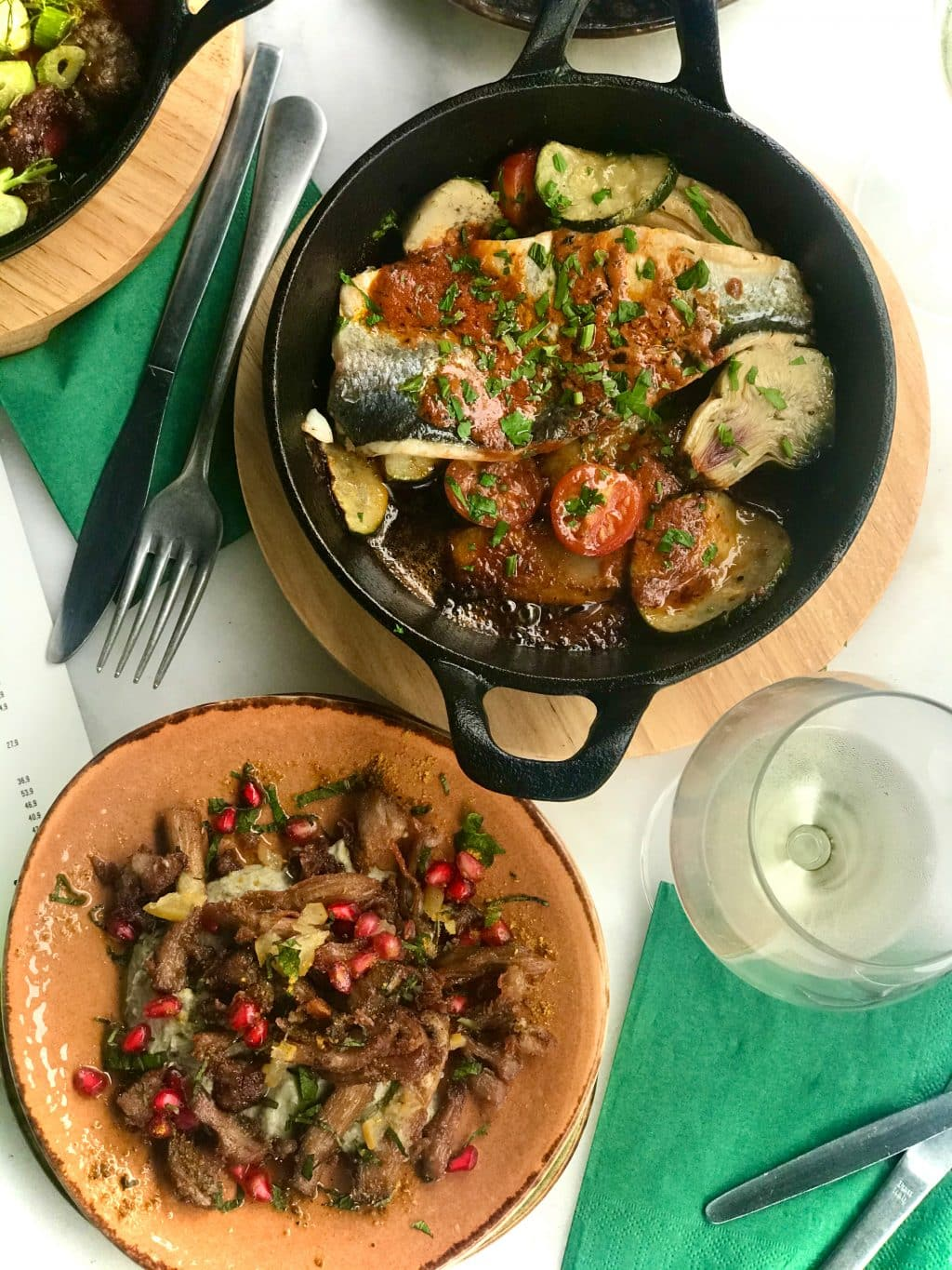 Creative, flavorful and not your everyday kind of tapas in Antwerp. Tapas and wine bar Tio serves Catalan food with a Moorish twist.