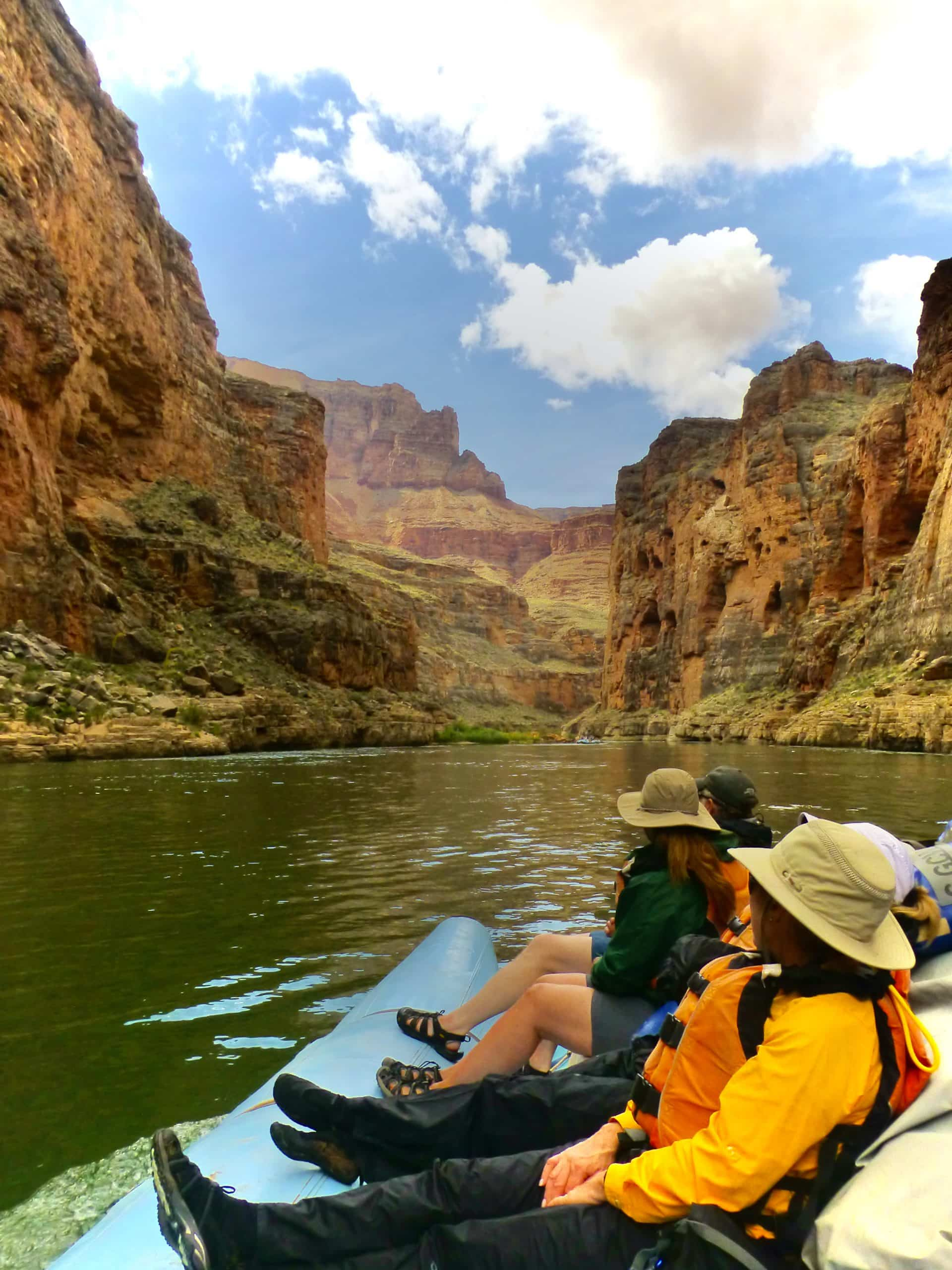 White water rafting on the Colorado river