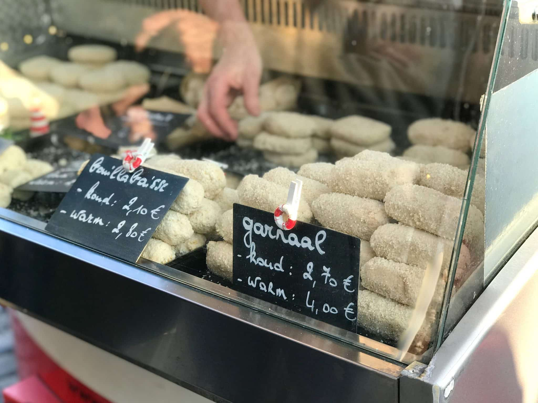 A funky taste test of a Belgian classic! Where to buy a good shrimp croquette in Antwerp? Let's find out!