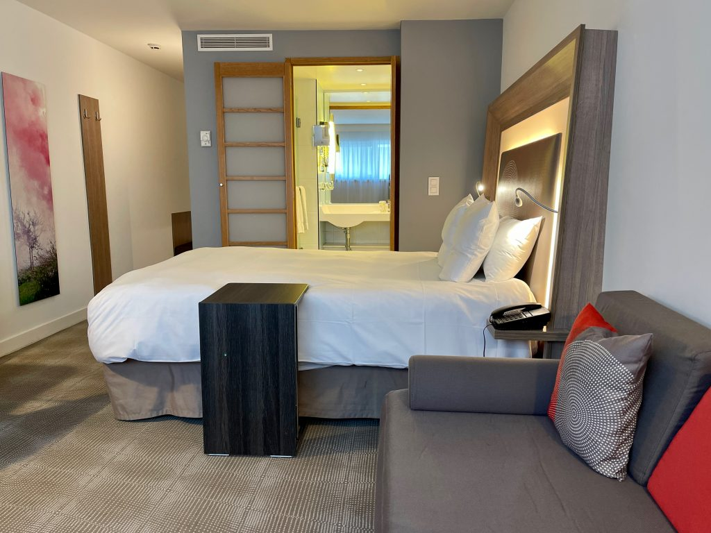 if you ask us, Novotel Mechelen is the perfect stay if you plan on visiting the city. Nothing fancy but a decent room for a very decent price.