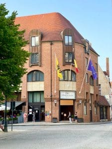The Crowne Plaza hotel Bruges is a great place to stay if you visit Bruges. Perfect location, underground parking, great breakfast and reasonable prices.
